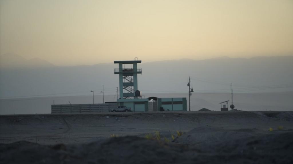 "Videojournée MAPA Border Agency (Sebastian Melo, Rosario Montero, Paula Salas), Still from ""Los Invasores"", 2018"