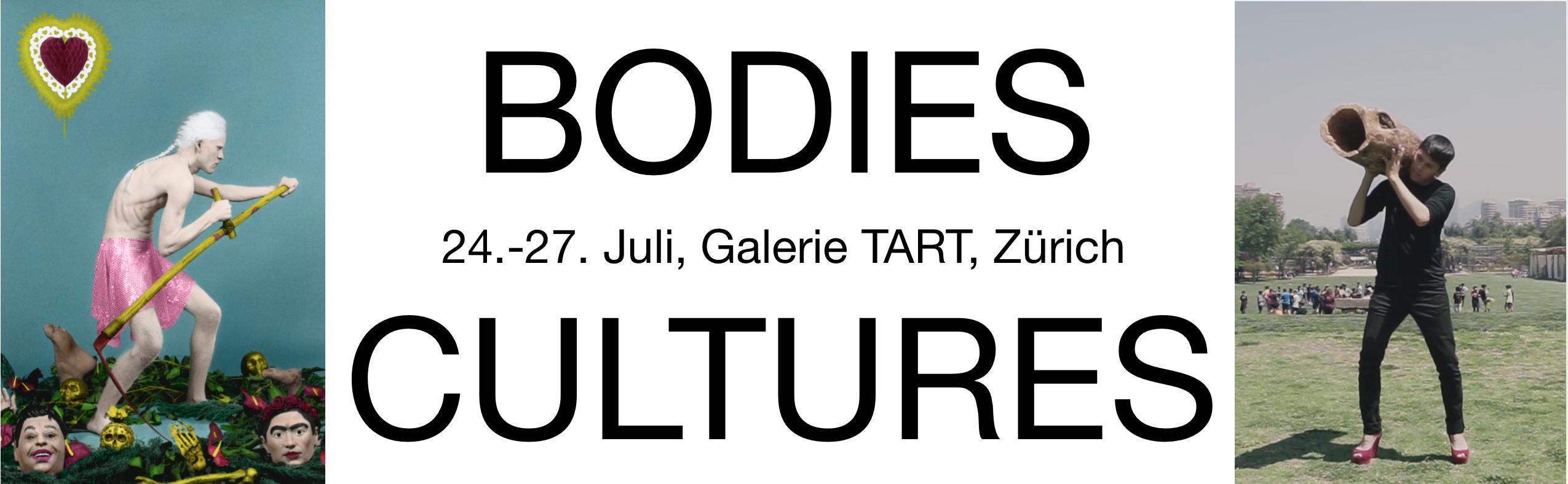 Plakat Bodies Cultures @Tart