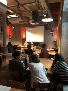 Videojournée MAPA Cabaret Voltaire Zurich Artist Talk Matthias Pfaller Claudia del Fierro