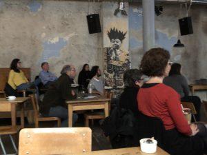 Videojournée Cabaret Voltaire Zurich Lantin American Landscape audience