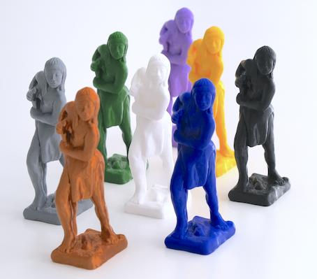 installation Tart Zürich Bodies Cultures Sebastian Calfuqueo Reconquest 2019 3D print Caupolican