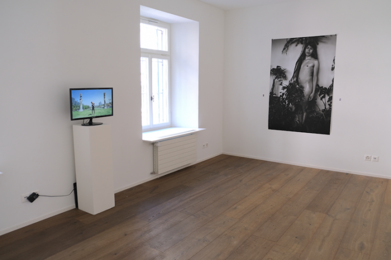 installation Tart Zürich Bodies Cultures Sebastian Calfuqueo imagen y semejanza Caupolican performance video Mapuche exoticism