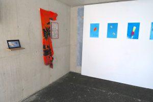 Carlos Silva Estacion de verano Zurich 2018 install shot piscina