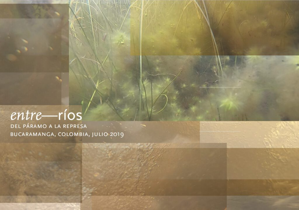 entre–rios project from the moor to the dam, colombia 2019